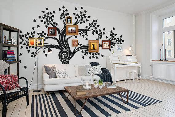DIY Family Tree Wall Art Decor2