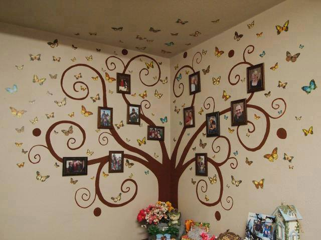DIY Family Tree Wall Art Decor3