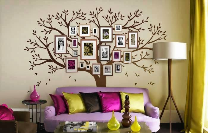 DIY Family Tree Wall Art Decor5