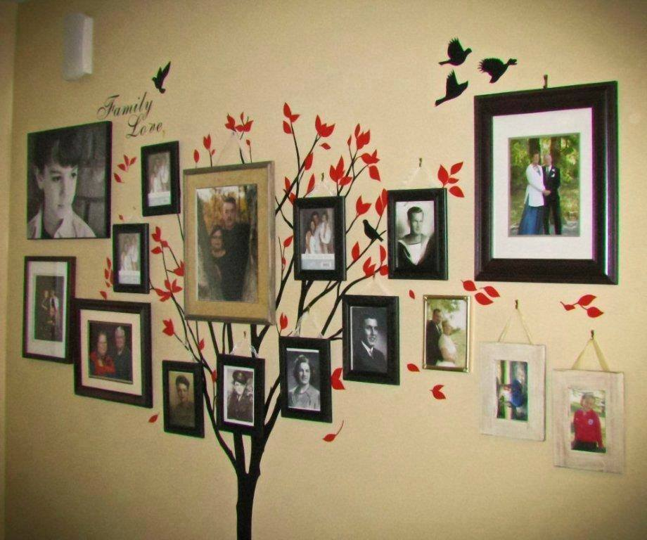 DIY Family Tree Wall Art Decor6