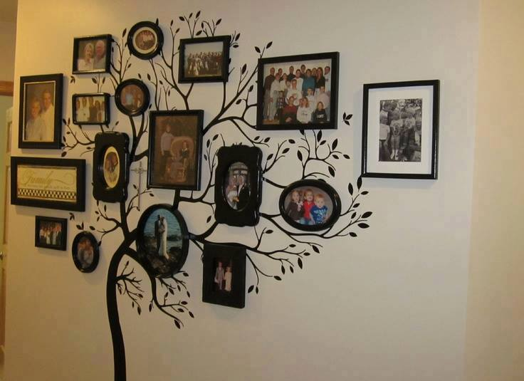 Diy Family Tree Wall Art Decor Beesdiy Com