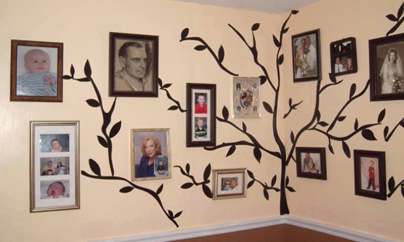 DIY Family Tree Wall Art Decor8