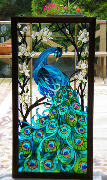 Cute Diy Home Decor Ideas: DIY Faux Stained Glass Windows