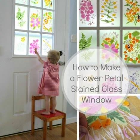 DIY Faux Stained Glass Windows4