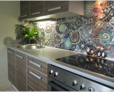 DIY Mosaic Back splash for Your Kitchen