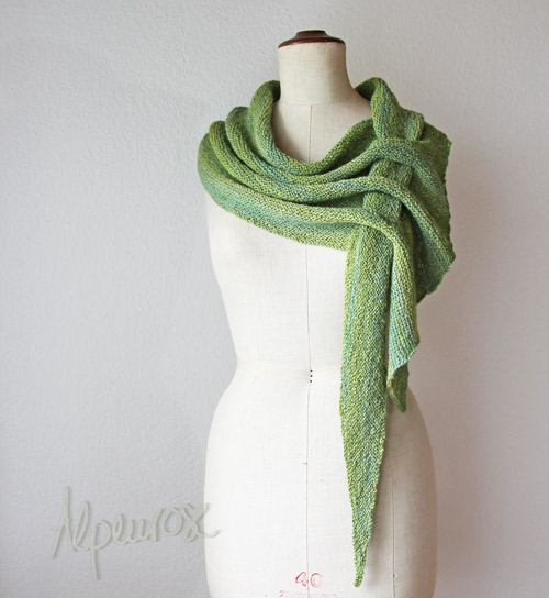 DIY Pfeilraupe Knit Scarf Arrow Caterpillar (Free Pattern)1