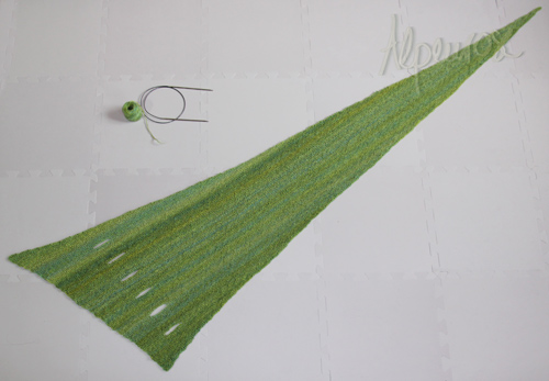 DIY Pfeilraupe Knit Scarf Arrow Caterpillar (Free Pattern)4
