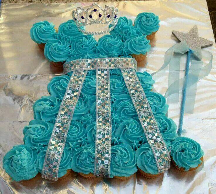 how to make princess dress cake