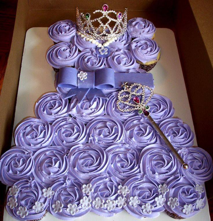 How To Make Princess Pull Apart Cake BeesDIYcom