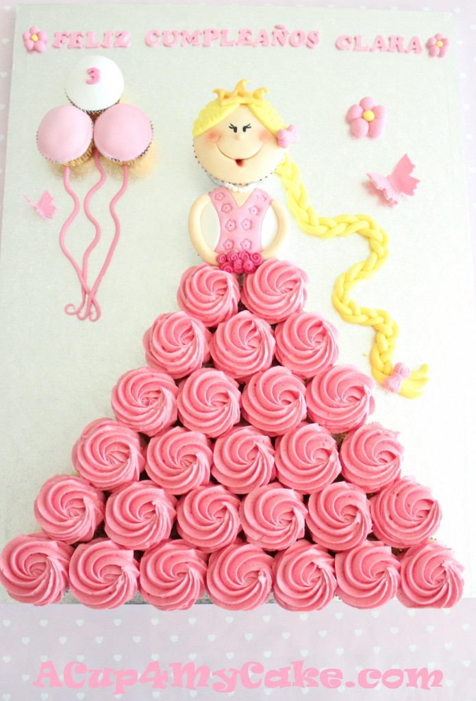 How To Make Princess Pull Apart Cake Beesdiy Com