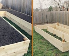 How to Build Raised U-Shaped DIY Garden Bed