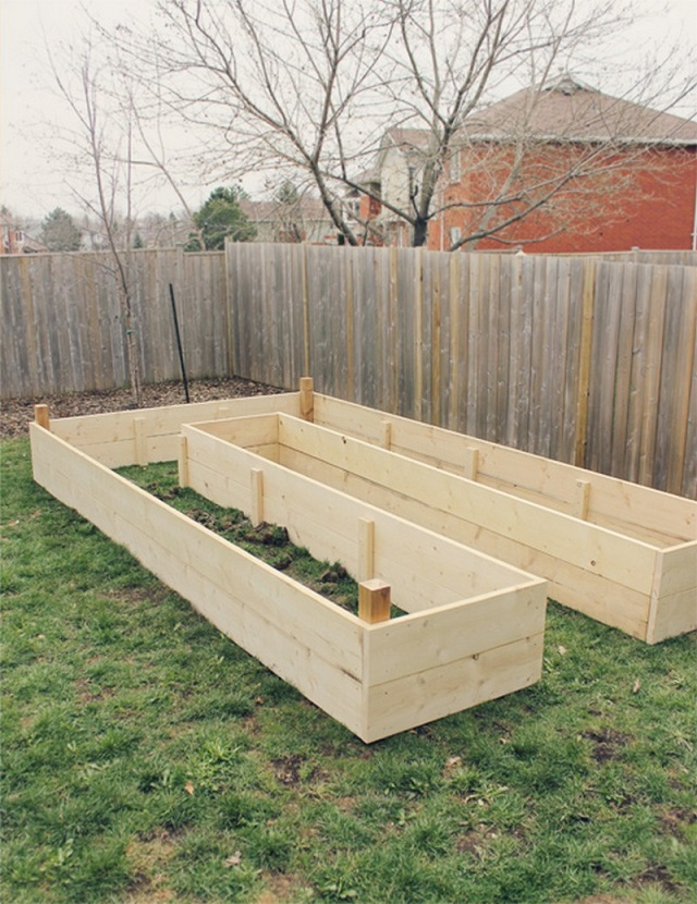 How to Build UShaped Raised DIY Garden Bed – Plans For Building Raised Garden Beds