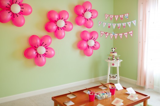 Make Beautiful DIY Balloon Flower 1.2Decoration1.2