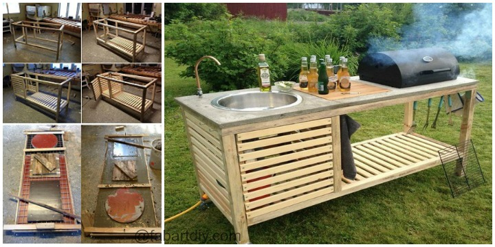 Outdoor DIY Portable Kitchen