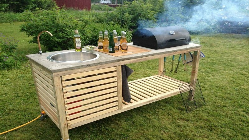 Outdoor DIY Portable Kitchen2