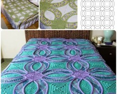 Wedding Ring Crochet Quilt Free Pattern