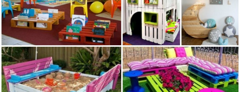 10 Incredibly Useful DIY Pallet Furniture for Kids
