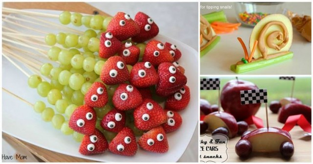 12 Fun Fruit Ideas To Get Kids Eating Healthy | BeesDIY.com