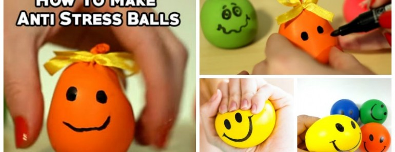 DIY Anti-stress Balls (Fun and Easy )