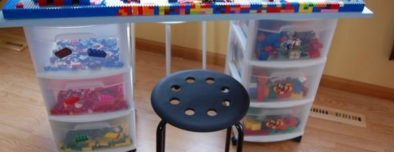 8 Awesome DIY Lego Tables for Kids