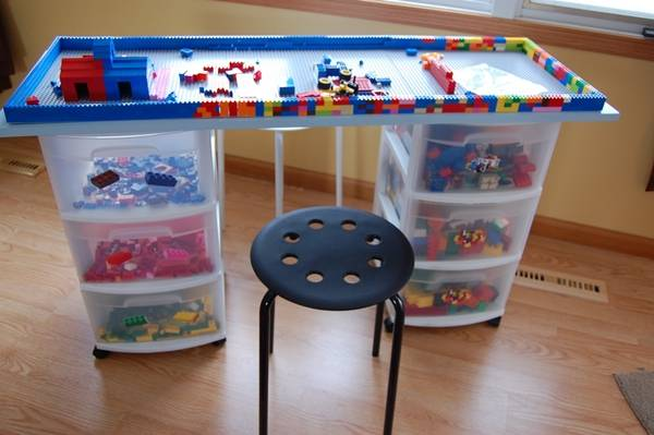 8 Awesome DIY Lego Tables for Kids 1