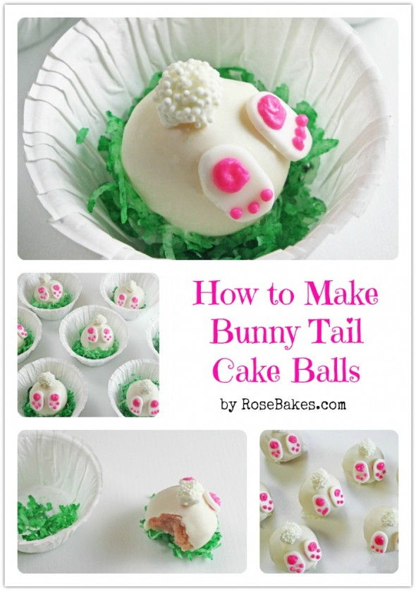 Delicious Easter Treats and Desserts16- bunny cake