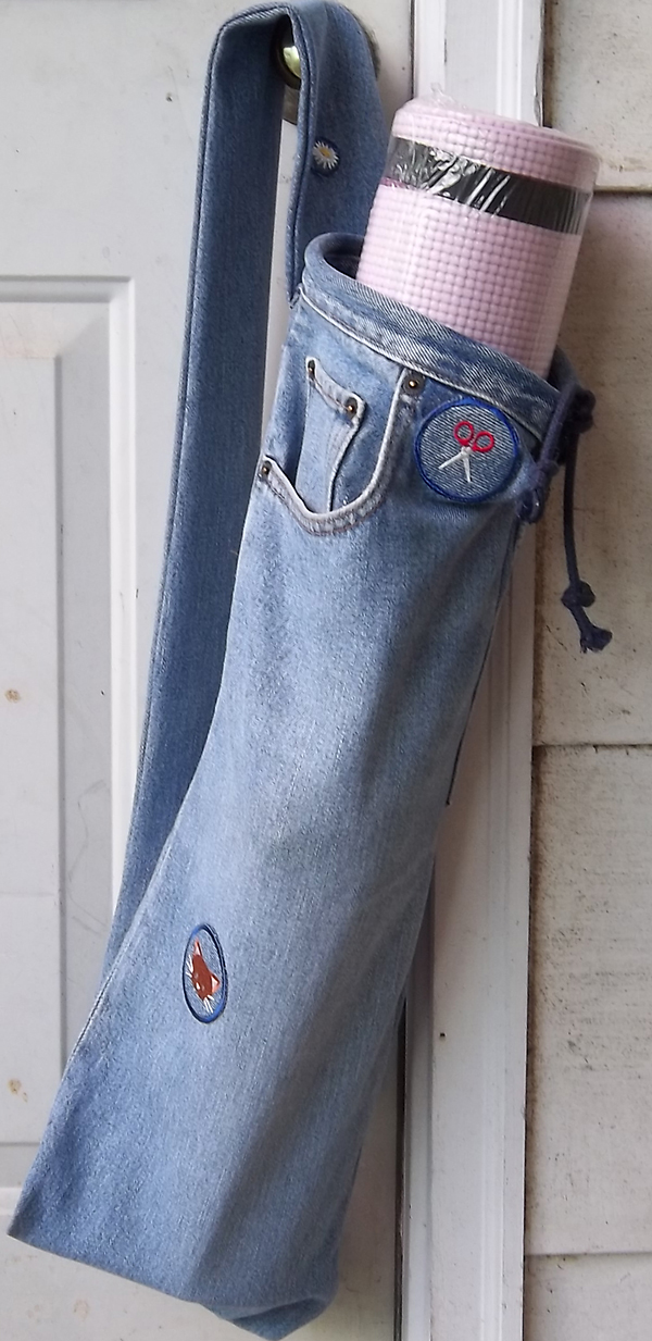 10 Unique Ideas for Recycled DIY Jeans Bag