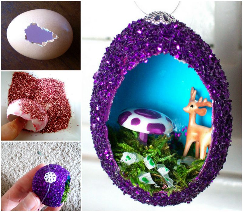 Make Stunning DIY Vintage Egg Ornaments 4