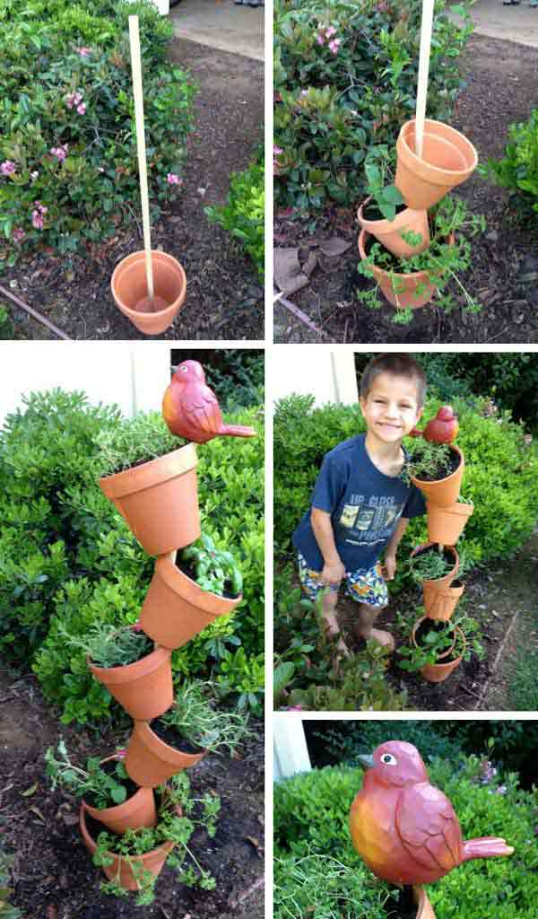Top 15 Low-Budget DIY Garden Planters 15