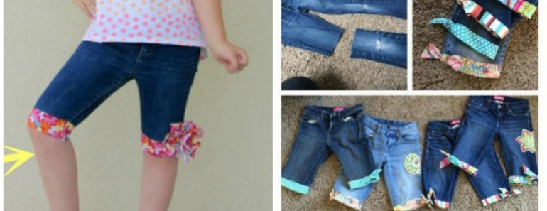 Upcycle Old Jeans into Awesome Shorts Tutorial