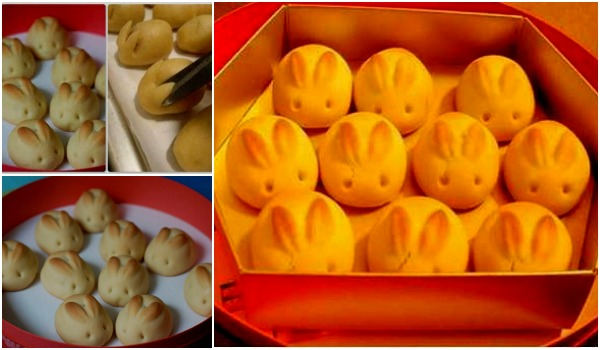 cute DIY bunny bread tutorial