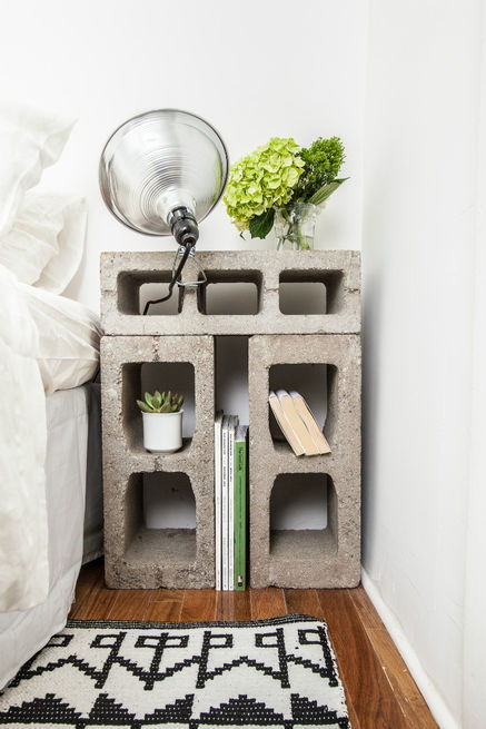 20 Creative Ideas to Use Concrete Blocks for Your Home14