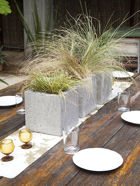 20 Creative Ideas to Use Concrete Blocks for Your Home15