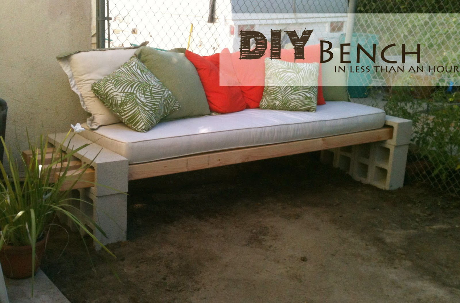 Design Cinder Block Table 22 creative ideas to use concrete blocks beesdiy com 20 for your home9