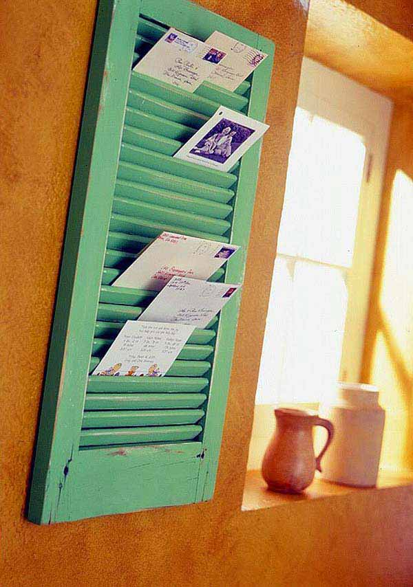 40 awesome ideas to Reuse Old Windows35