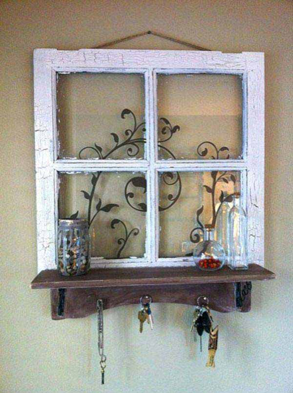 40 awesome ideas to Reuse Old Windows36
