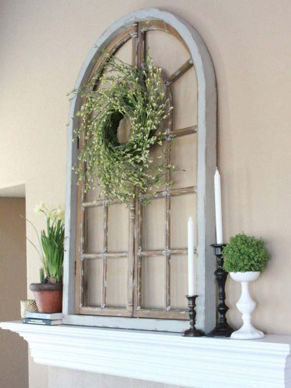 40 awesome ideas to Reuse Old Windows39