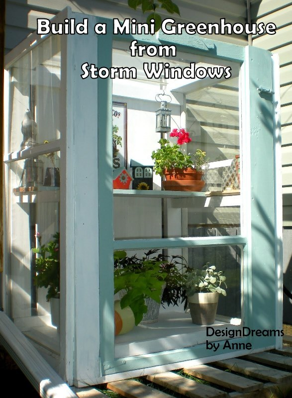 40 awesome ideas to Reuse Old Windows5
