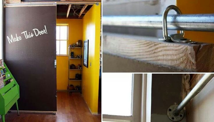 How to DIY Sliding Door2