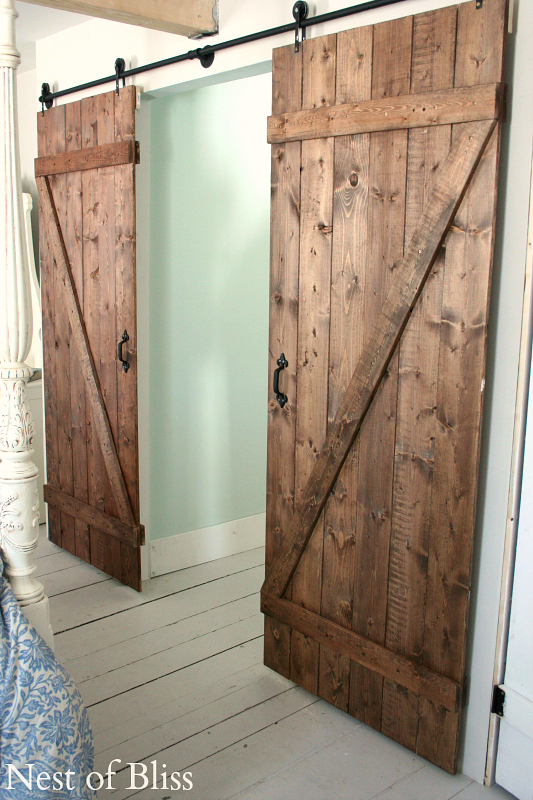 How to DIY Sliding Door3