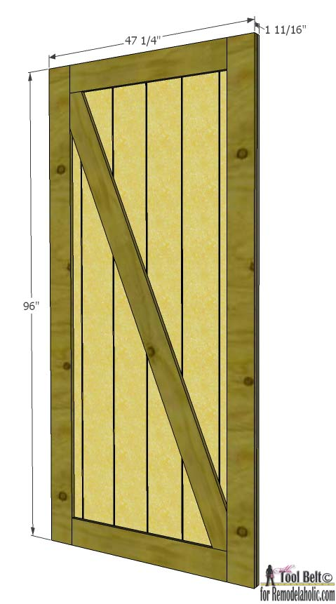 How to Build Sliding Door8