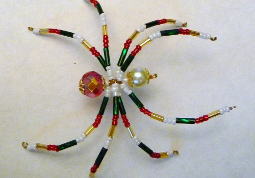 DIY Cute Beaded Spider5