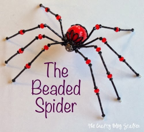 DIY Cute Beaded Spider6