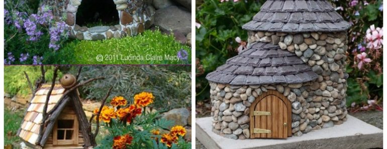 Amazing Miniature DIY Stone Fairy House