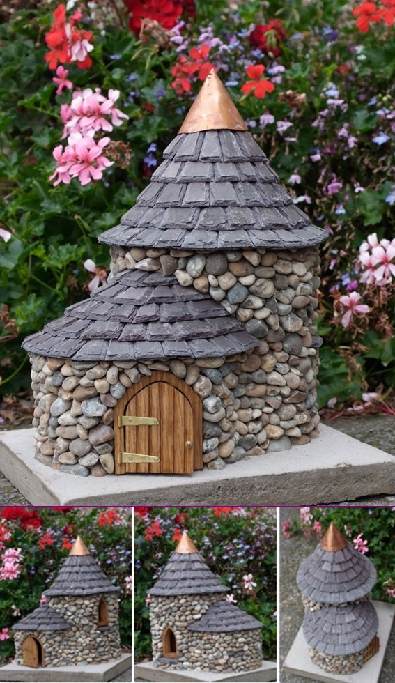 DIY Miniature Stone Fairy House2