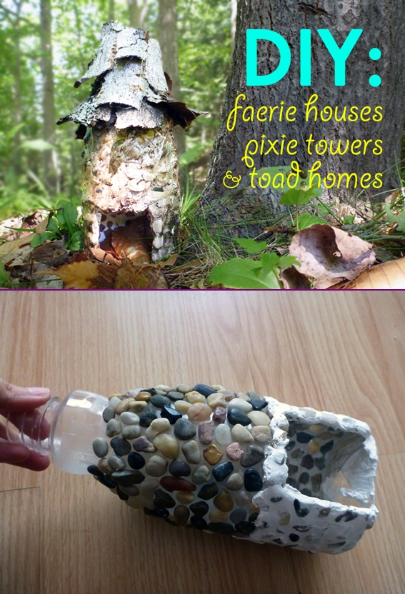 DIY Miniature Stone Fairy House3
