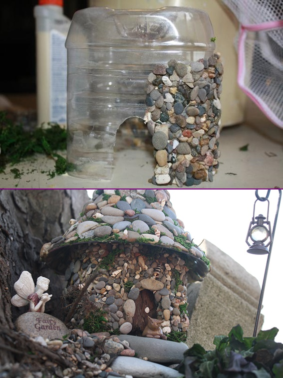 DIY Miniature Stone Fairy House6