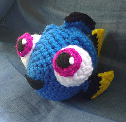 10 Cutest Finding Dory Crochet Patterns Beesdiy Com