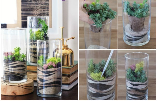 DIY Sand Art Terrarium Tutorial5