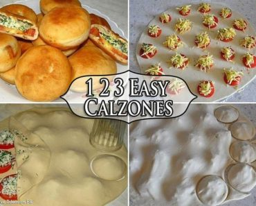 Easy DIY Homemade Calzones